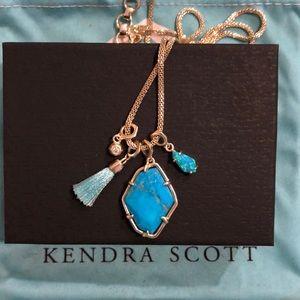 Kendra Scott turquoise stone necklace